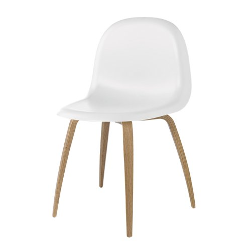 Gubi 5 Stuhl Weiß