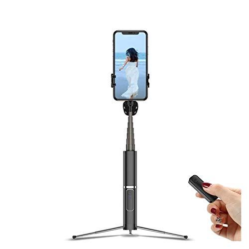 SFLRW Trípode de teléfono, trípode flexible con control remoto inalámbrico y clip universal, mini stand de trípode de teléfono compatible con todos los teléfonos celulares / cámaras, soporte de trípod