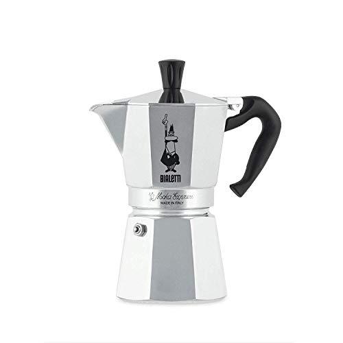 Bialetti Moka Express Aluminium Stovetop Coffee Maker (6 Cup)