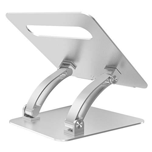 Soul Case Laptop Stand, Adjustable Computer Riser Notebook Holder for Laptop, Ergonomic Foldable Portable Laptop Lift for Desk, Compatible for Apple MacBook Pro/Air, Dell, Lenovo, ASUS, HP