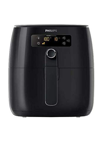 Philips Avance 2.0 Digital TurboStar Multi-Cooker Airfryer w/Splatter Proof Lid - Black HD9641/56
