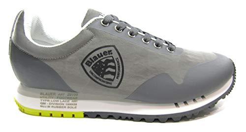 Blauer Scarpe Uomo Art DENVER02 Grey Colore Foto Misura A Scelta Grigio 43