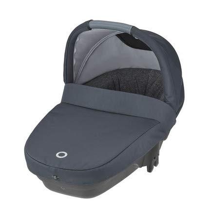 Baby Comfort Amber Plus - Capazo ligero y compacto de nacimiento a 6 meses Essential grafito 0-10 kg