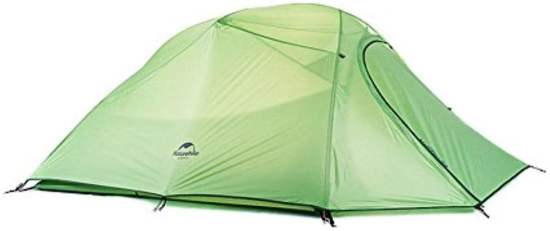 Camping Campsite Ultra light Aluminum pole Double layer Anti rainwater tent