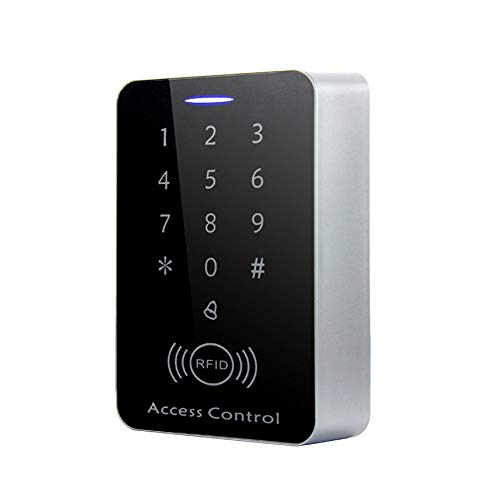 AMAO Codeschloss Türöffner RFID Access Control Keypad 125 kHz EM Kartenleser Einzeltür Proximity RFID Karte Zutrittskontrollsystem Tastatur