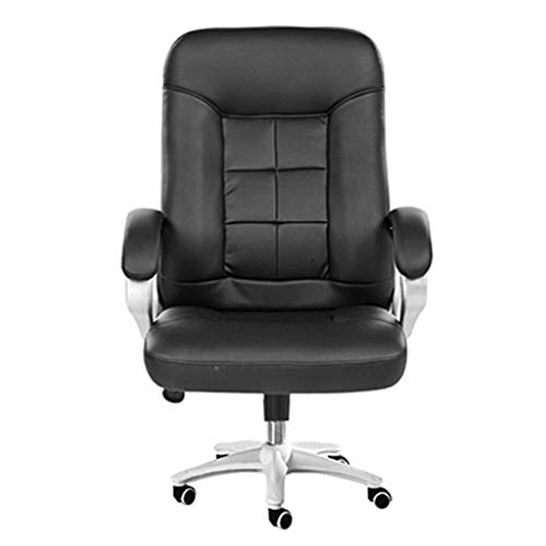 N/Z Living Equipment Furniture Series Big Rated Leder Executive Drehbarer ergonomischer Bürostuhl mit Verstellbarer Kopfstütze (Farbe: Pink)