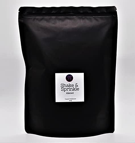 Aliened Aroma Shake & Sprinkle. Ambientador de alfombra fuerte, 500 g basado en perfume de mujer