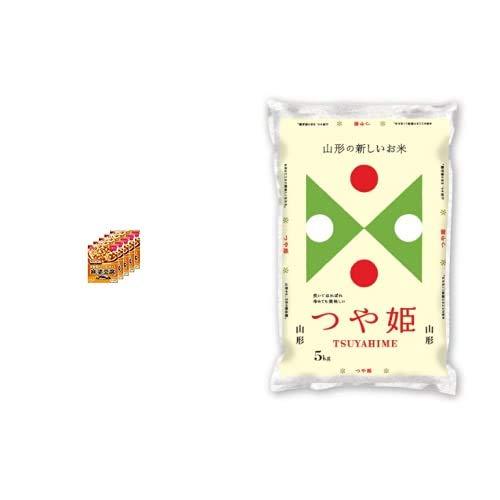 味の素 Cook Do (中華合わせ調味料) あらびき肉入り麻婆豆腐用 甘口 140g×5個 +  【精米】山形県産 白米 つや姫 5kg 令和元年産