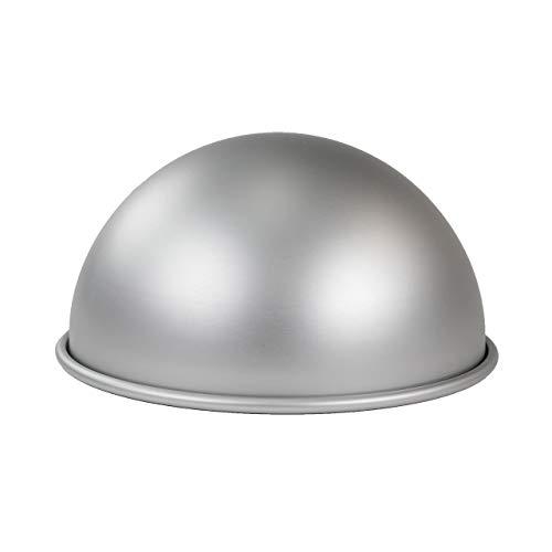 """PME BALL084 Aluminium Eloxiert Kuchenform-8"""" x 4"""", silber"""