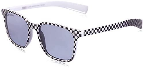 Urban Classics Unisex Sunglasses Faial Sonnenbrille, Black/White, one size