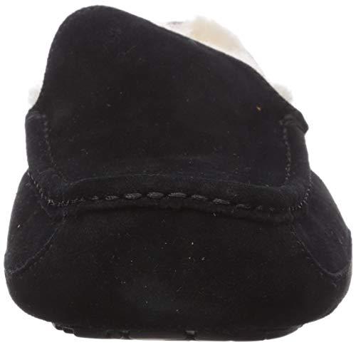 UGG Ascot, Zapatillas de Estar por casa para Hombre, Negro, 39.5 EU