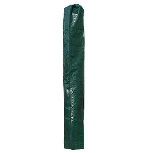 PATIO PLUS Parasol Cover for Garden Umbrella Covers 160x24x24cm Waterproof Fabric Draw String at Bottom, Green