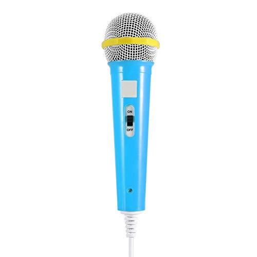 V BESTLIFE Vbestlife Kids Microphone Music Video Storytelling Micrófono de Fiesta para Niños, Microphone Music Video Storytelling Micrófono de Fiesta para Niños. (Azul)