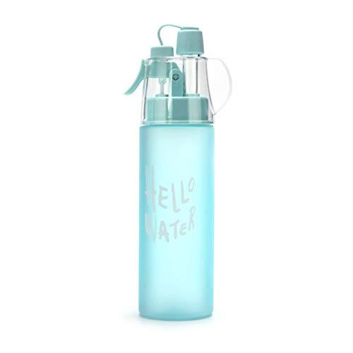 Deportes Botella de Agua al Spray, Aerosol Botella de Agua, Deporte Anti-Fugas Beber con Niebla Hidratación