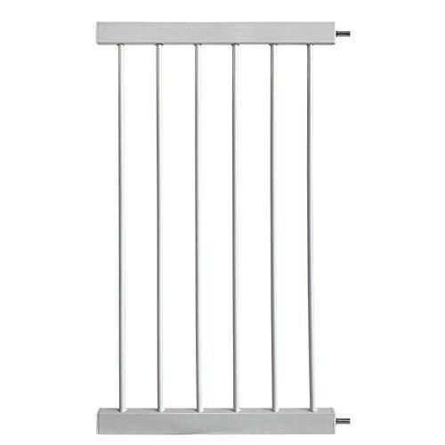 Utilisable avec une deuxi/ème Extension de 9 cm ou 21 cm Hauck Extension 9 cm pour Barri/ère Hauck Wood Lock Argent Compatible avec Adaptateur Y pour Rampes Rondes /à Pression