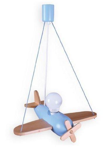 ItalPol Produkt Splendida lampada aerio CLIPPER lampadario grande 40cm x 70cm cameretta bimbo in legno.
