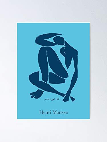 AZSTEEL Henri Matisse - Nue Blue Ii Poster