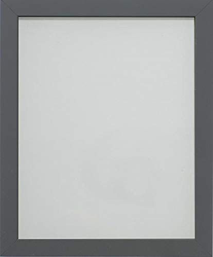 Frame Company Allington Marco de Fotos, Madera MDF, Gris, 12x8-Inch Fitted with Glass