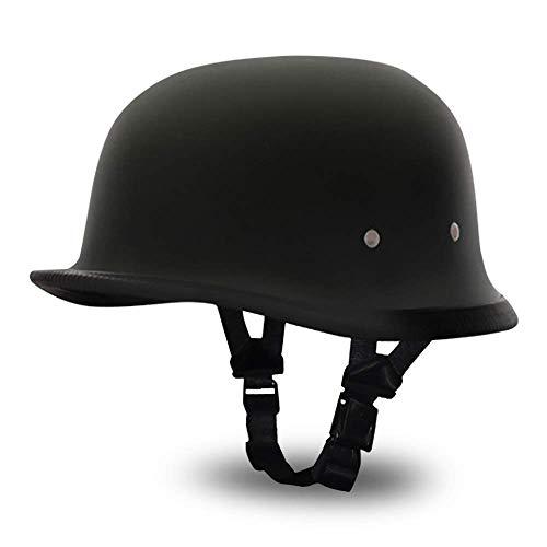 Daytona Helmets German- Dull Black,Large