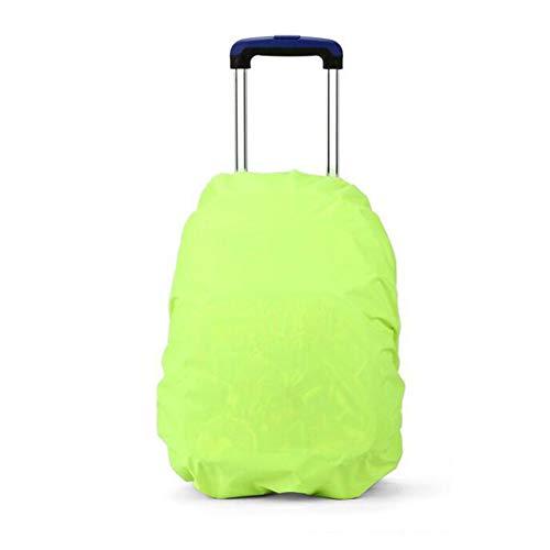 Nikgic - Cubierta Funda Impermeable para Mochila Nylon Adecuado para Deportes al Aire Libre Viajes Mochila Capacida de 20 – 35 L (Verde)