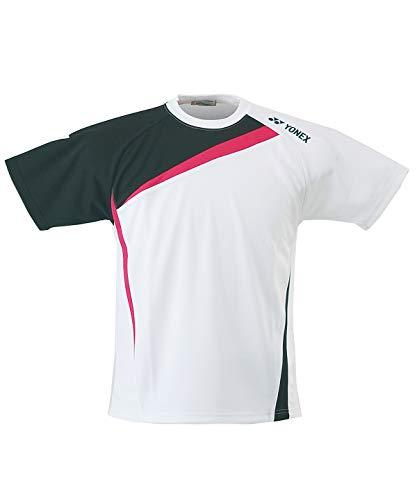 [ヨネックス] テニスウェア バドミントンウェア Tシャツ 半袖 アシンメトリーTシャツ 半袖 スタンダードサイズ RWHI1601 011(WH) L