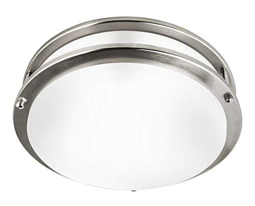 Hyperikon 14 Inch Ceiling Light, 100 Watt Replacement (25W), LED Flush Mount, 4000K Daylight, Dimmable, Energy Star