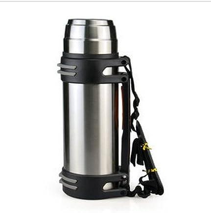Z&HX sportsEdelstahl Isolierung Tasse groe Kapazitt Thermosflasche 24 Stunden Isolierung Topf Auto Reise Thermosflasche B074KZX76Q | Haltbar