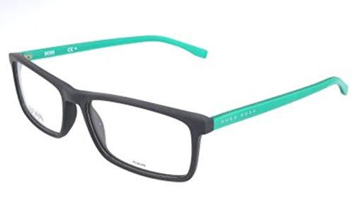 Hugo Boss Hugo Orange Brille Monturas de gafas, Negro (Schwarz), 57.0 para Hombre