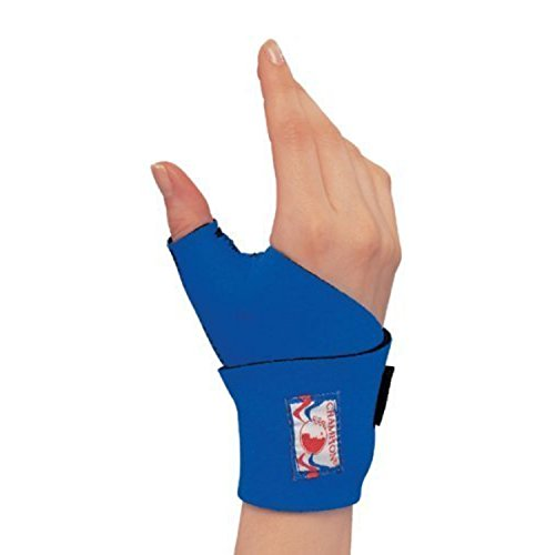 OTC Wrist-Thumb Splint, Wrap Style Support, Neoprene, Small