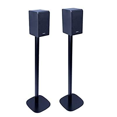 Vebos Samsung HW-Q90R Speaker Stand set | optimal experience in every room - Allows you to place your Samsung HW-Q90R exactly where you want it from Vebos