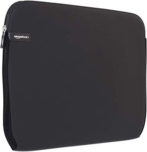 "Amazon Basics NC1303154 - Funda para ordenadores portátiles (15.6""), color negro"