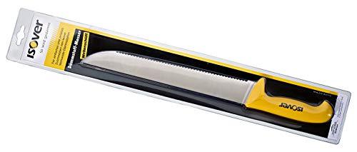 ISOVER 729904 Wellenschliff 30cm – für festere Mineralwolle-Produkte Extra stabiles und langes Messer für den Dämmstoff-Zuschnitt