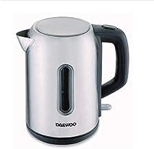 Daewoo Cordless Stainless Steel Electric Kettle 1.7L, 2200 Watt - Dek-1247, Silver