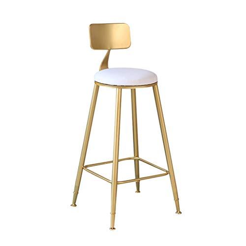 Chaise de Petit Déjeuner Hautes Tabouret de bar petit déjeuner chaise haute tabouret dinant le siège confort table de cuisine petit déjeuner (45x45x45/65/75) portant 150 kilogrammes