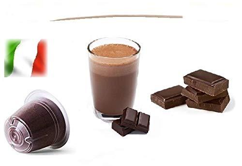 Capsule Compatibili Nespresso®, Capsule Miscela Mini Ciok - Mini Cioccolata Linea Espresso (Kit Assaggio 20 Capsule)