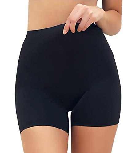 MISS MOLY Bragas Moldeadoras sin Costuras Mujer Pantalones Leggings Cortos de Seguridad Braguitas Pantalón Antirozaduras Ropa Interior Lencería Slipshort Bóxer Ligero y Cómodo