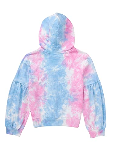 Cub McPaws Girls Fashion Sweatshirt | Tie Dye | Sequin | for 4 to 12 Years Kids