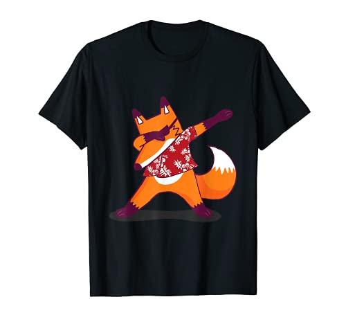 Fuchs Fuchsfreunde Wildtier Wald - Dabbing Fuchs T-Shirt