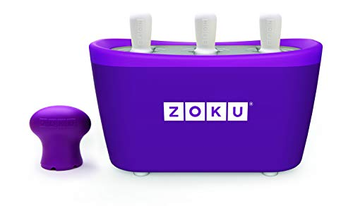 Zoku - 3 Quick Pop Maker per Ghiaccioli Immediati - Viola