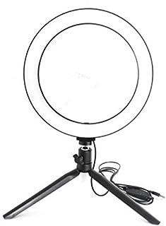 Gesh Fotografie LED Selfie Licht 10 Inch/26 CM Camera Lamp met Stand Statieven voor Live YouTube Vul Licht