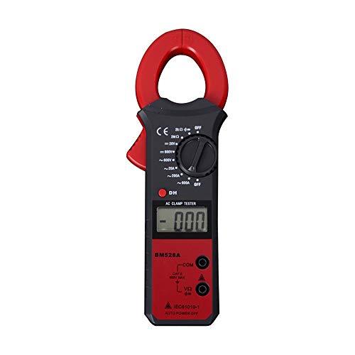 Elektrischer Multimeter 20A-600A Intelligent Digital Clamp Multimeter Automatische Abschaltung Amperemeter mit großem Kapazitätswiderstand JFCUICAN