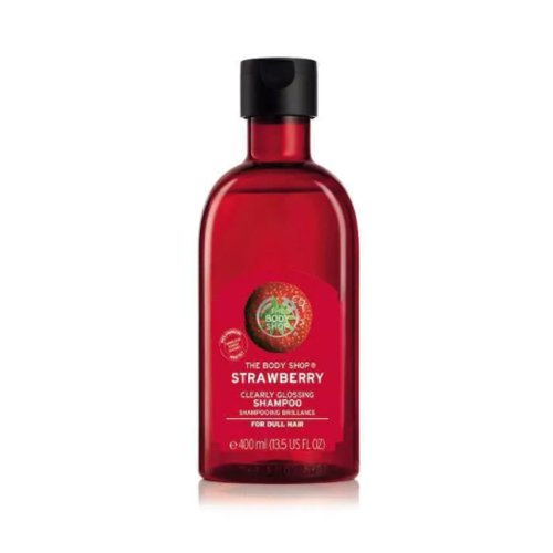 The Body Shop Strawberry Clearly Glossy Shampooing 400 ml – Grand flacon