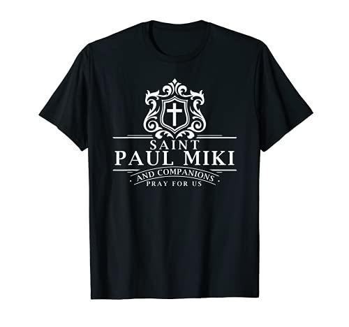 Saint Paul Miki Patron Saint of Japan Catholic Saint T-Shirt