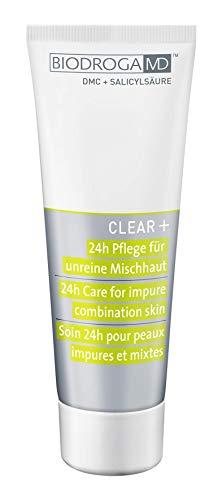 Biodroga MD Clear+ 24h Pflege unreine Mischhaut