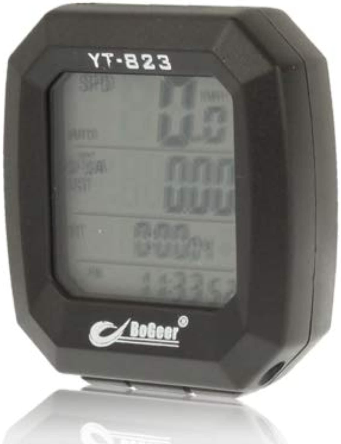 Cycling Equipment LCD Electronic Bicycle Speedometer, Digital LCD Display Size  5x4.5x2.5cm. Safe and Practical