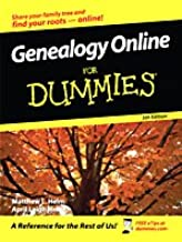 Genealogy Online for Dummies (Thorndike Health, Home & Learning)