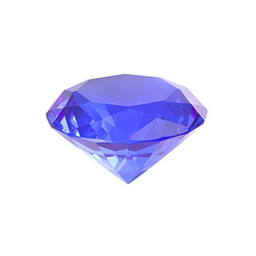 BESPORTBLE 50 Mm Diamante Acrílico Cristal Claro Diamantes Piedras Preciosas Decoración Diamantes de Imitación Mesa de Boda Relleno de Jarrones de Dispersión Adorno para Despedida de Soltera