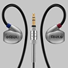 RHA T20 IEMs (Gen. 2): DualCoil HiFi Noise Isolating Stainless Steel in-Ear Headphones with Tuning Filters