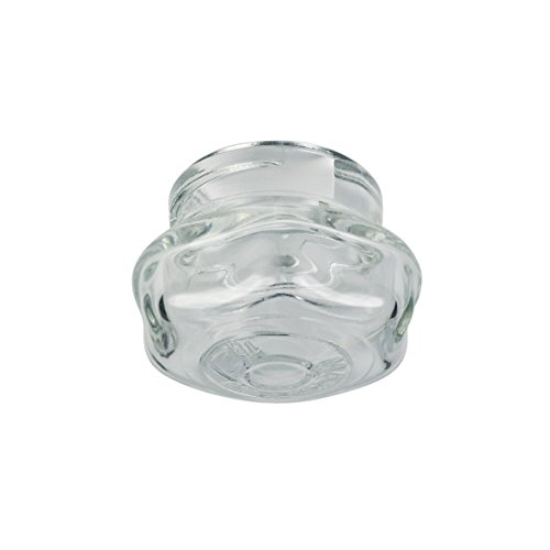 Amica 8002233 ORIGINAL Lampenkappe Lampendeckel Glashaube Lampenabdeckung Kalotte Abdeckglas Backofenleuchtenlinse Lampenschutzglas Ø49mm Glas Backofen Ofen Herd