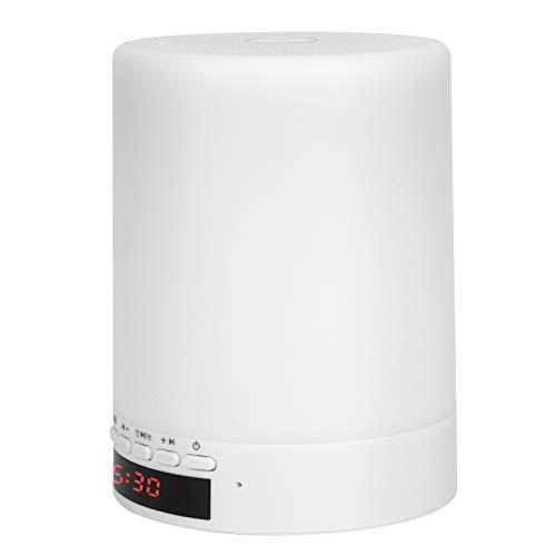 FOLOSAFENAR Altavoz Bluetooth Altavoz Bluetooth portátil Radio FM Blanco V4.2 + EDR para Oficina para el hogar